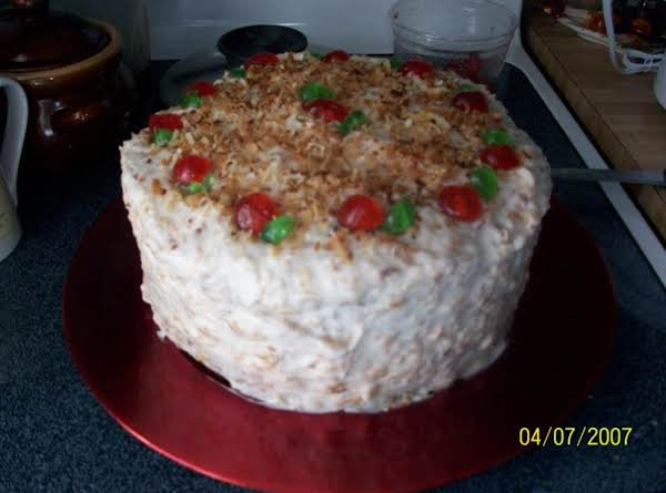Patricia's Coconut Cake Recipe