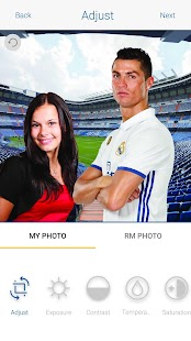 Real Madrid selfie- screenshot thumbnail