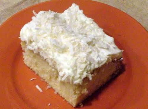 """Click Here for Recipe: Coconut Cloud Cake """"This recipe is incredible! I..."""