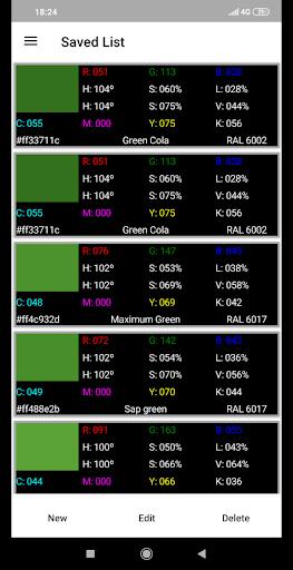 RGB Color Detector 1.0.61 screenshots 2