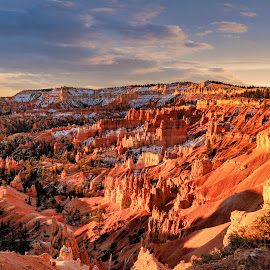 Canyon Morning by Bruce Newman - Landscapes Mountains & Hills ( national park, morning light, landscape, colorful, morning,  )