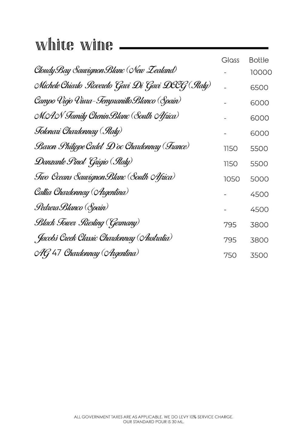Rocky Star Cafe & Bar menu 8