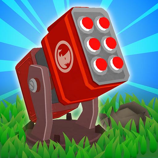 Turret Fusion Idle Clicker Icon