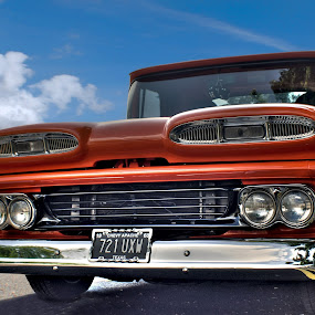 by Jade Newman - Transportation Automobiles ( car, hdr, vintage, chevrolet, classic )