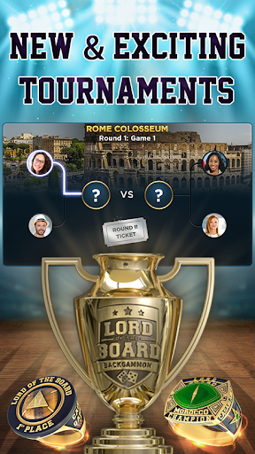 Backgammon – Lord of the Board – Backgammon Online Screenshot