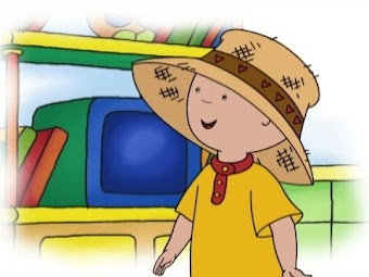 Shoo, Shoo Bird, Fly Away!/Caillou's Road Trip/Caillou and the Dragon