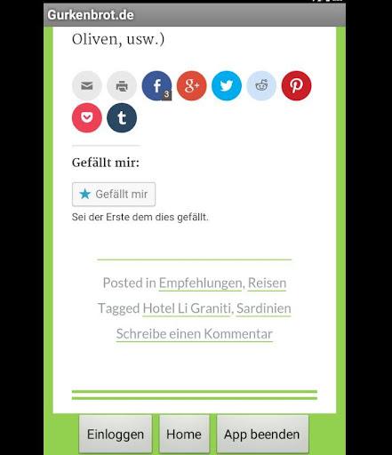 玩免費娛樂APP|下載Gurkenbrot.de app不用錢|硬是要APP