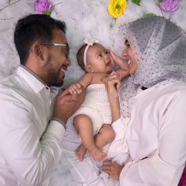 cute family by Dedi Triyanto  - People Family