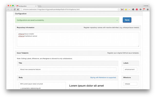 GitHub Issue Creator