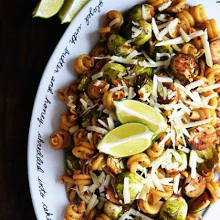 Balsamic Brussel Sprouts Pasta