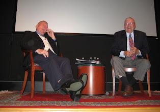 Photo: NASA Flight Director Gene Kranz and Astronaut Fred Haise