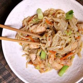 Easy Chicken Chow Mein.
