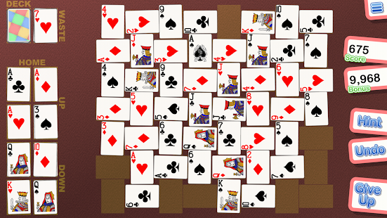 Crystal Crazy Quilt Solitaire