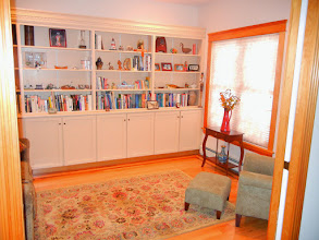 Photo: Library with Pocket Doors
