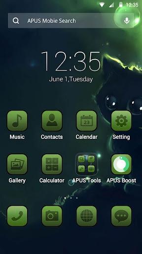Green Moment APUS theme