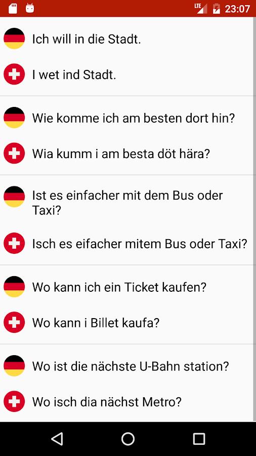 Schweizerdeutsch lernen – Android-Apps auf Google Play