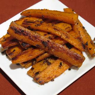 Cumin Sautéed Carrots.