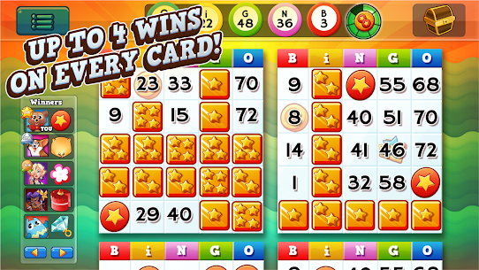 Bingo Pop – Live Multiplayer Mod Apk (Unlimited Tickets + Cherries) 6.5.39 2