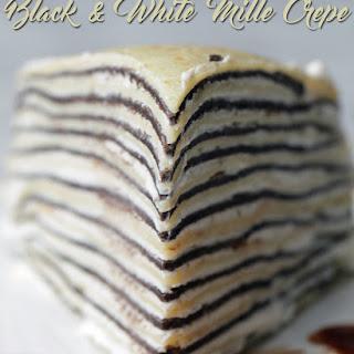 Black & White Mille Crepe.