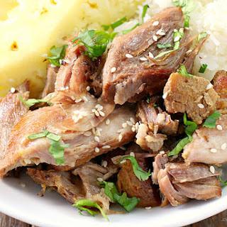 Slow Cooker Polynesian Pork.