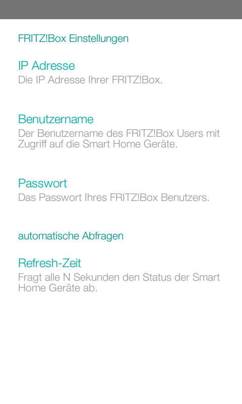 SmartHomie- screenshot