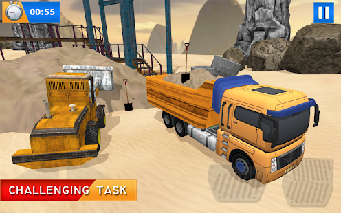 Off-road tractor driving construction simulator 3D - náhled