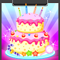 Birthday Cake Coloring Book icon