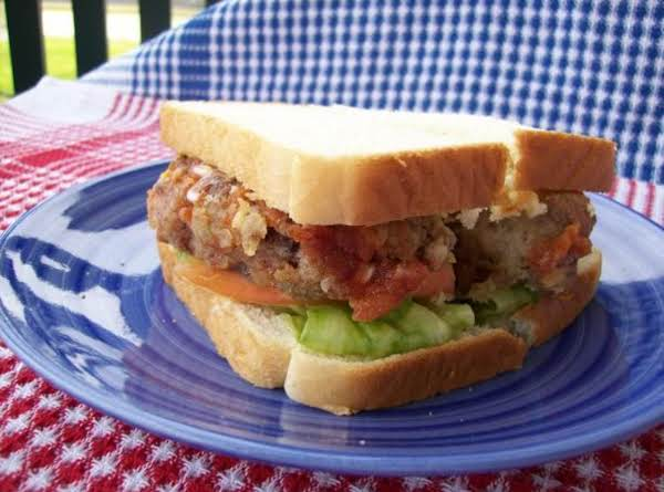 Country Fried  Meatloaf Sandwich Recipe