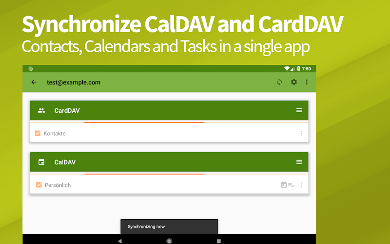 DAVx⁵ – CalDAV/CardDAV Client Screenshot 6