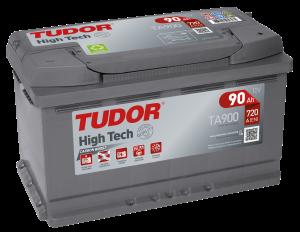 Tudor/Exidebatteri 12V/90AH
