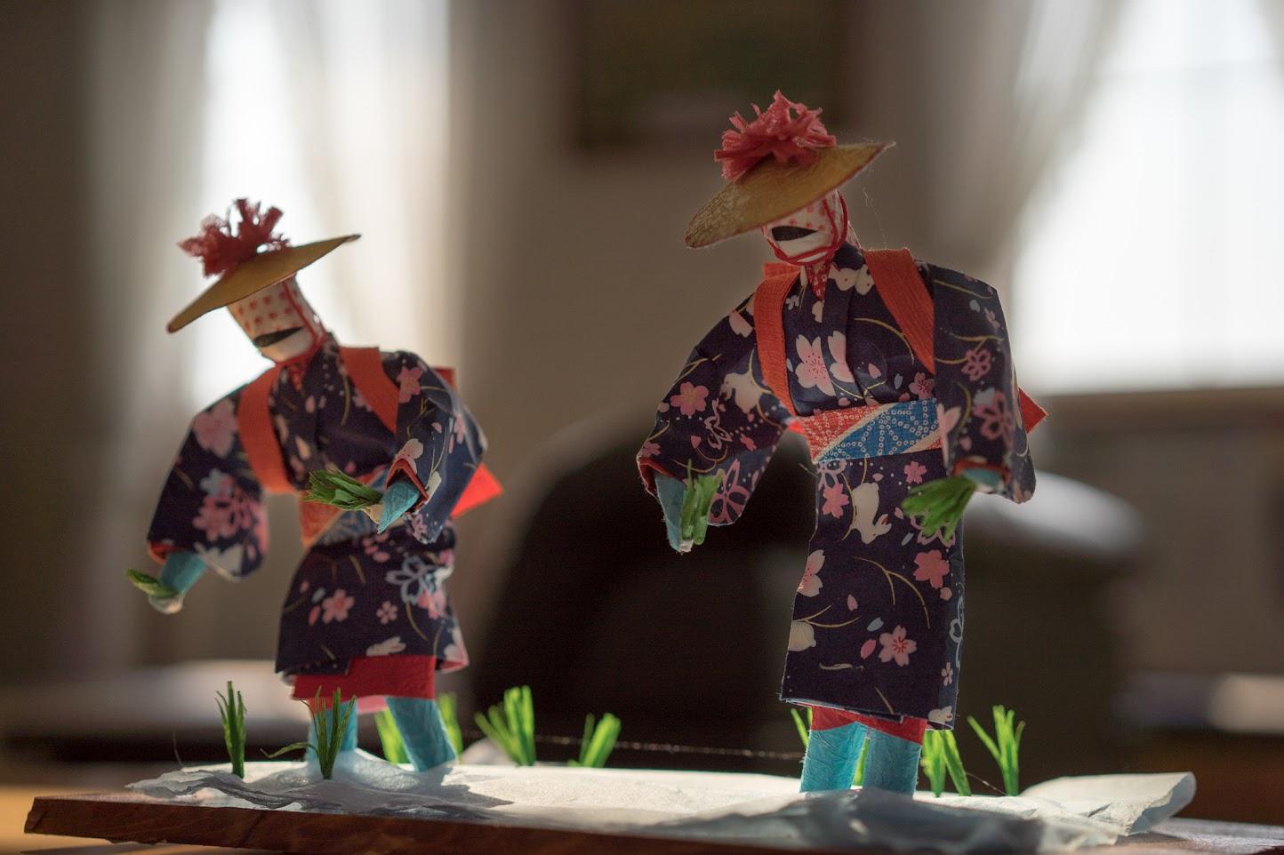 和紙人形:早乙女