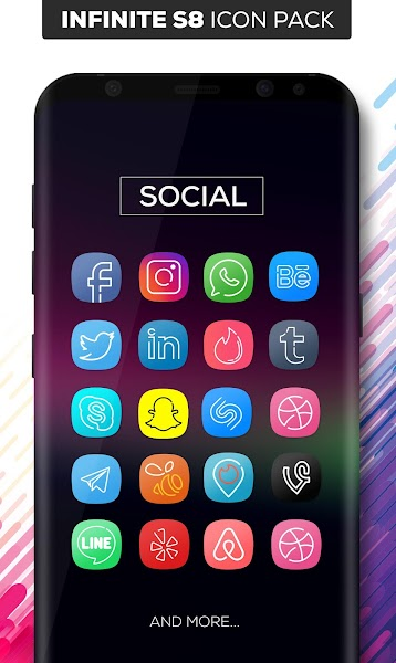 Infinite S8 Icon Pack v1.2.1
