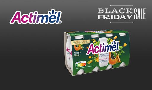 Bild für Cashback-Angebot: Black Friday: Actimel Botanicals - Actimel