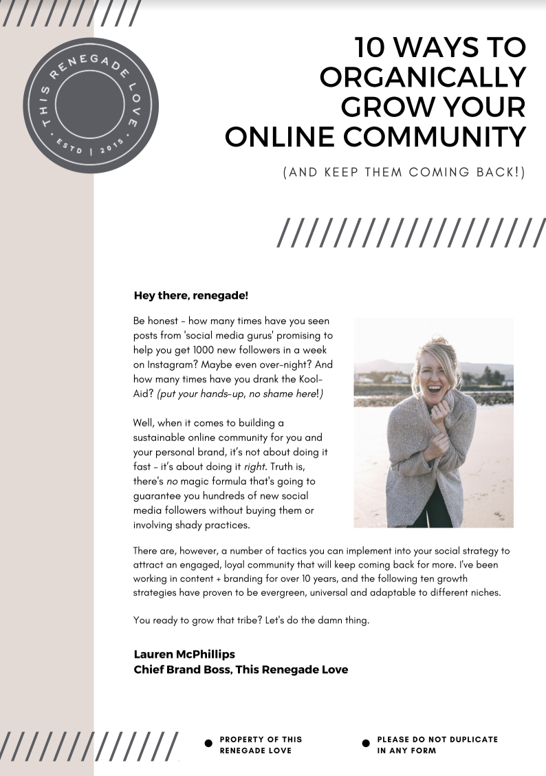10 Ways to Organically Grow Your Online Community