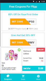 Coupons For Flipp Shopping - náhled