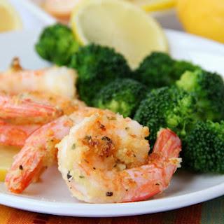 Air Fryer Parmesan Shrimp.
