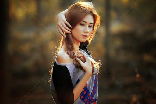 Portrait Of Shelvie By Azal Akasyah