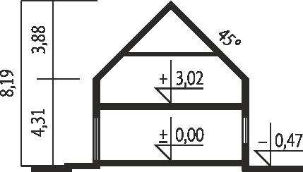 E11 II ECONOMIC - Przekrój