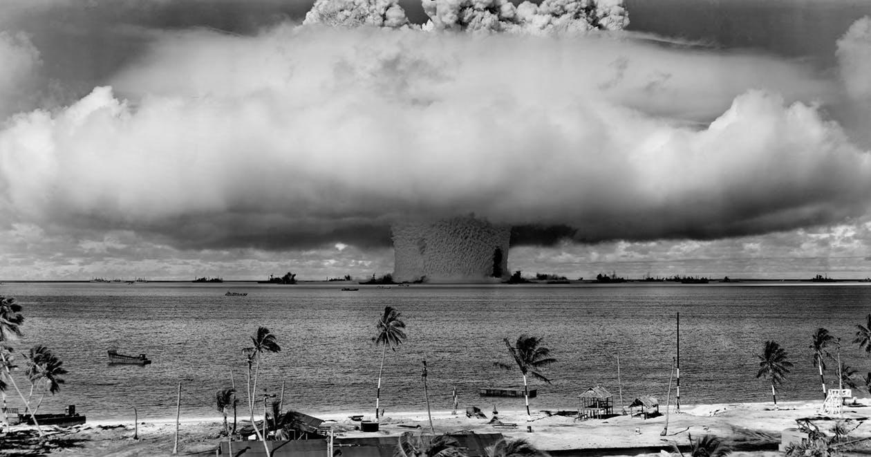 An atomic blast