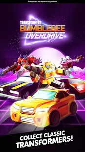 Bumblebee Overdrive: Transformers Arcade Racing Screenshot