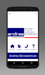 Andree Bürozentrum GmbH- screenshot thumbnail