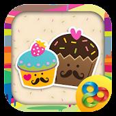 Cute Cupcakes Theme