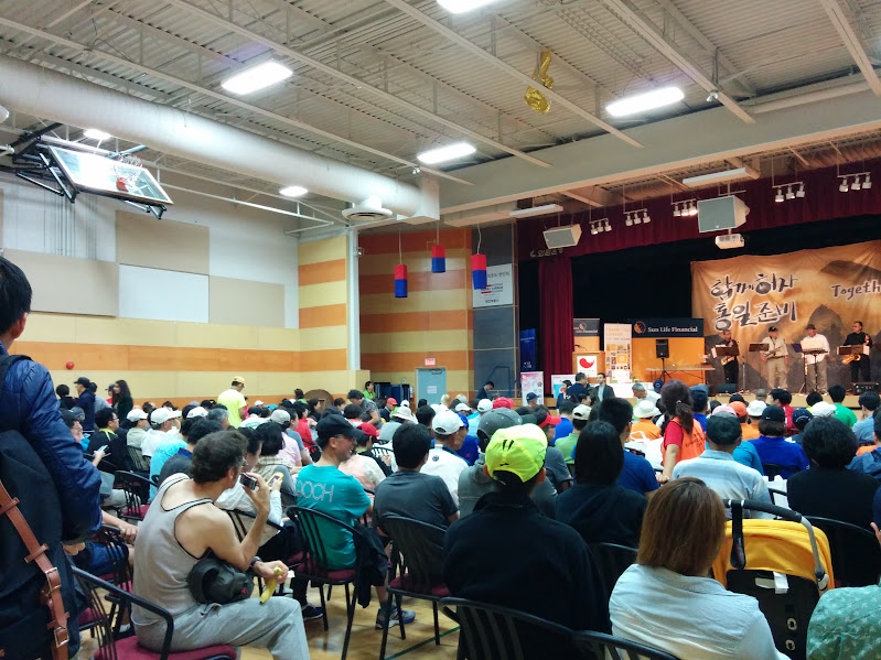 Full house at the KCCA Toronto Peace Marathon