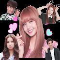 WAStickerApps Korean Idol Sticker for WhatsApp icon