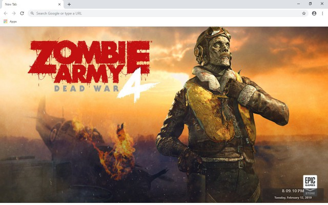 Zombie Army 4: Dead War Wallpapers New Tab