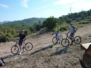Photo: VTT avec Hervé, Brian, Jean-Michel