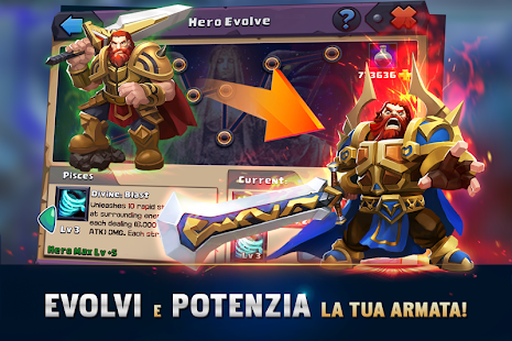 Clash of Lords 2: Italiano - náhled