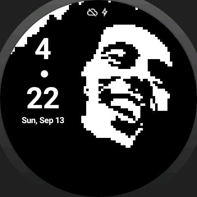 RastaPixel Watch Face