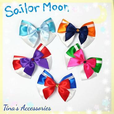 Sailor Moon系列 蝴蝶結 一套五款 可以訂製 大蝴蝶結長約10cm  可以製成髮夾, 橡筋, 胸針等飾物 歡迎查詢及訂造 Made to order  #sailor #moon #sailormoon #hairclip #hairpin #tinasaccessories #diy #handmade #madetoorder #order #alligatorclip #accessories #headband #gift #littlegirl #birthdaypresents #girl #hkdiy #hairband #Jupiter #mercury #mars