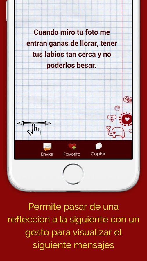 Frases de amor Para Whatsapp- screenshot